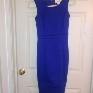 Tabitha blue midi dress size 0